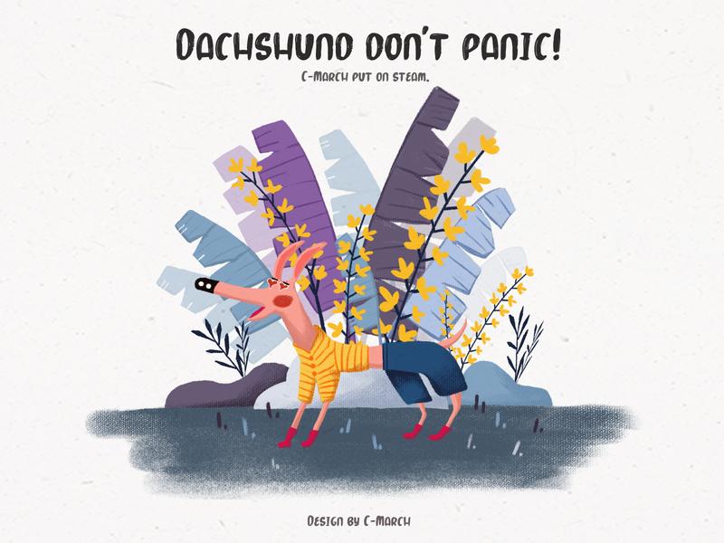 Dachshund   Don't  Panic !