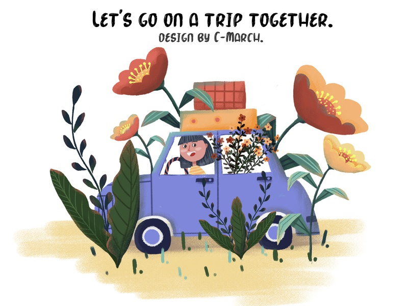 Let's go on a trip together.