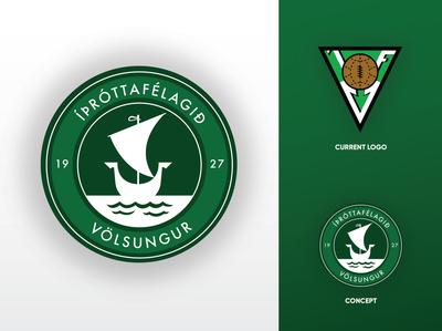 Football Logo - Rebrand Concepts