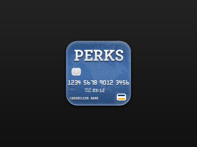 Credit Card iOS Icon icon iphone credit card ios blue