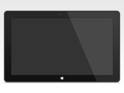 Windows Surface Template windows surface tablet template metro windows 8 microsoft