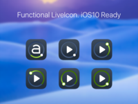 Functional LiveIcon. iOS10 Ready
