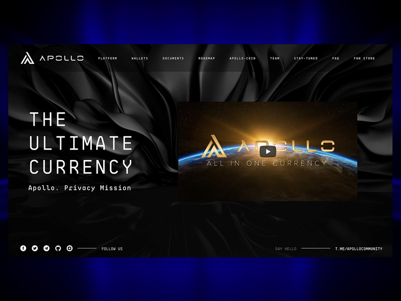 Apollo Currency 2.0