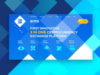 Bitto Exchange Landing 2.0