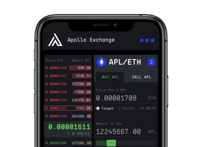 Apollo DEX Dashboard Mobile