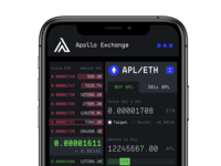 Apollo DEX Dashboard Mobile