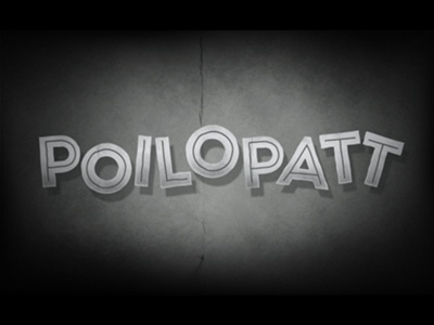 Typography Poilopatt Cartoon