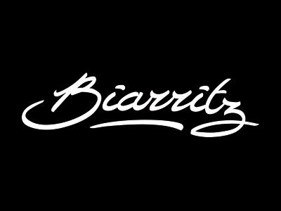 Typographie Biarritz
