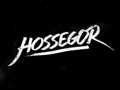 Typographie Hossegor