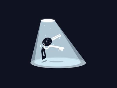 A UFO steals my keys