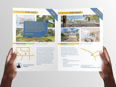 Real Estate Book flyer branding