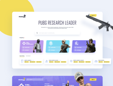 PUBG Tournaments Research Tool
