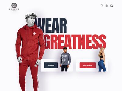 Legend London Wear Shop web fashion wear shop