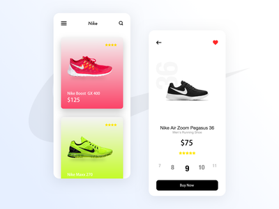 Nike - Store app concept interactive design user experience user interface design sketch visual design app design interaction design ui  ux