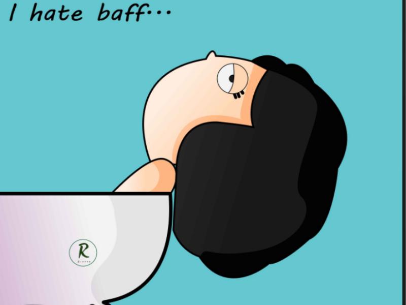 I hate baff simple tired girl tub bath