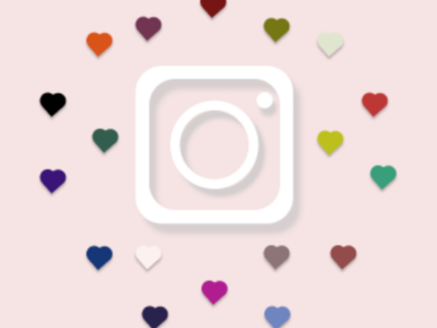 Instagram Icon Design.