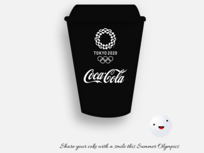 Olympic Games inspired Coke can design