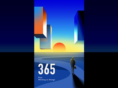 365 days working on design