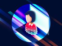 AI lady