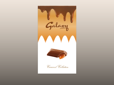 Favourite Chocolate Wrapper Redesign - Dribbble Weekly Warm Up dribbbleweeklywarmup redesign branding
