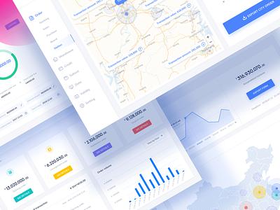 Mjie Cloud Two ux medical dashboard ui webdesign website saas dashboard business icon illustration design ui
