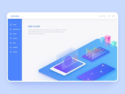 Dashboard home page branding webdesign design dashboard ui