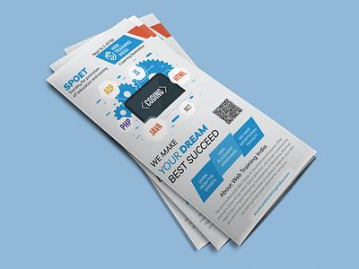 Web Training India print design printing branding education brochure brochure design brochure