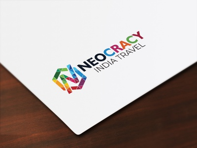 Neocracy logodesign logo illustration vector typography clean flat design branding
