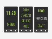 Touchscreen Kitchen Appliance