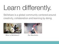 Skillshare Homepage videos