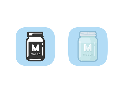 Mason Logo iconography adobe illustrator jar mason icons iconjar icon