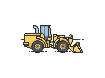 Front Loader tractor construction front loader bulldozer