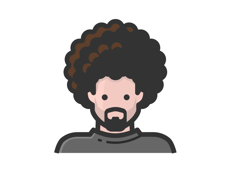 Crazy Hair By Scott Lewis Dribbble Dribbble