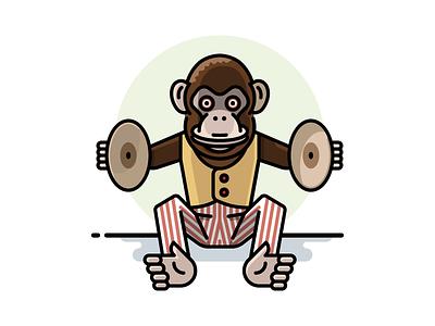 Cymbal-banging Monkey Toy toy cymbals monkey