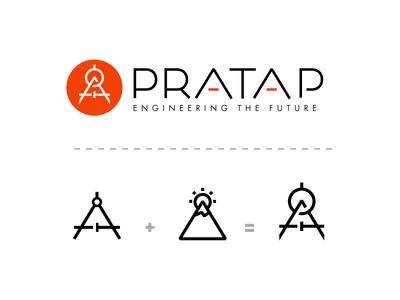 PRATAP Logo (Rejected)