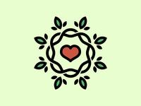 Heart Vine Logo (Un-used)