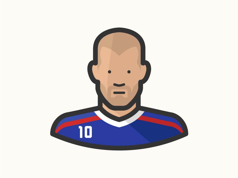 Zizou real madrid zizou zinadine zidane les bleus france fifa eufa footballer soccer avatar