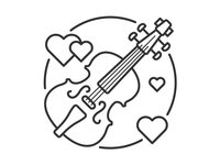 Violin Outline