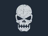 Textured Skull