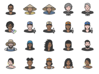 Diversity Avatars Vol. 4 Preview