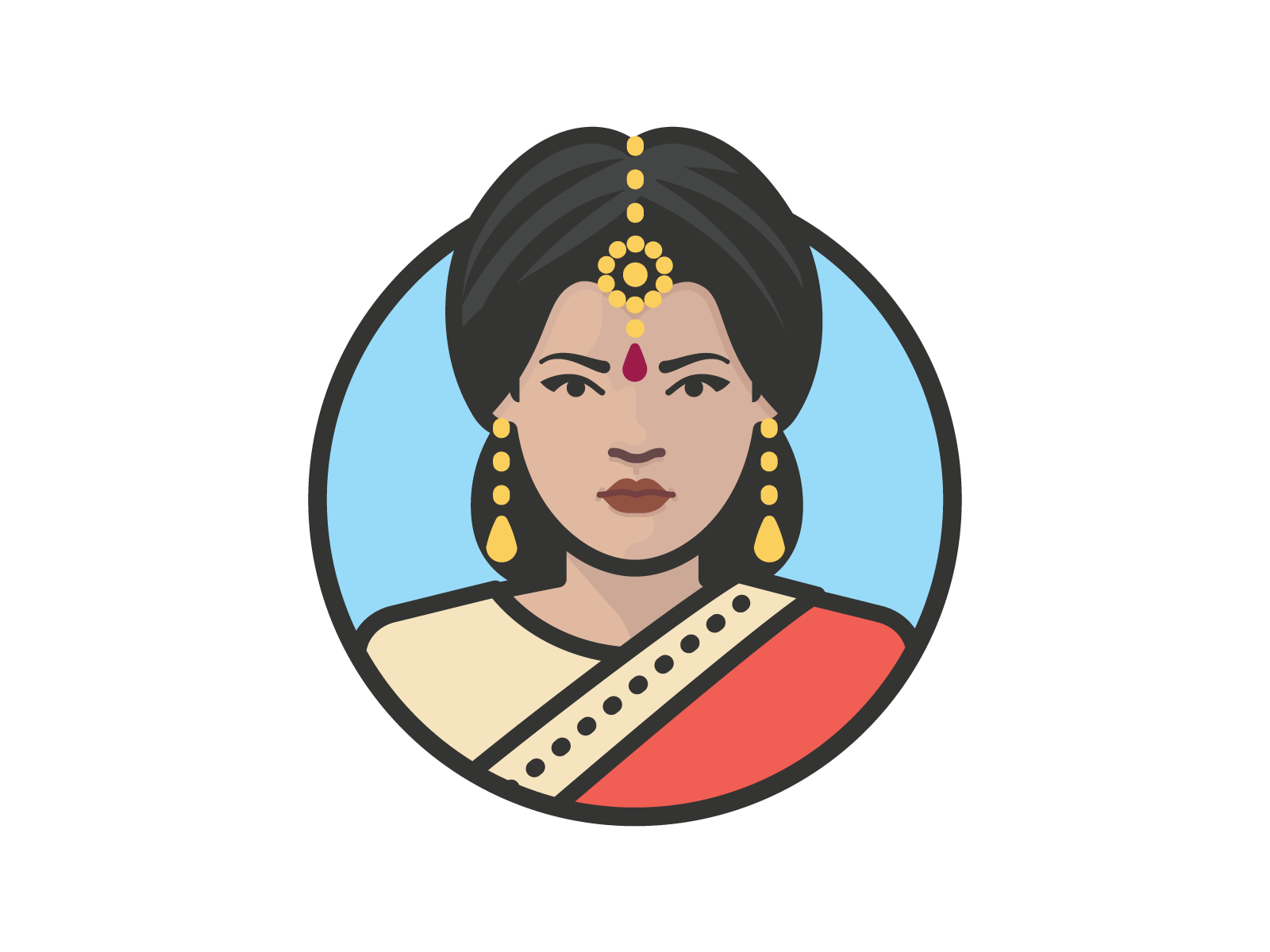 Hindu woman redesign