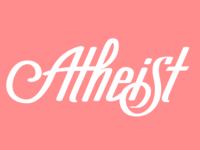 Atheist Hand-drawn Type