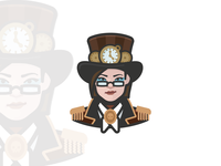 Steampunk Girl Avatar