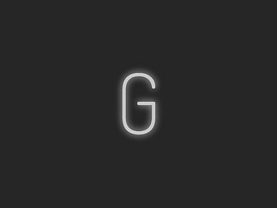 CSS Drop Cap - G glow drop cap typography