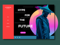 Hyperfoil Clothing Landing page