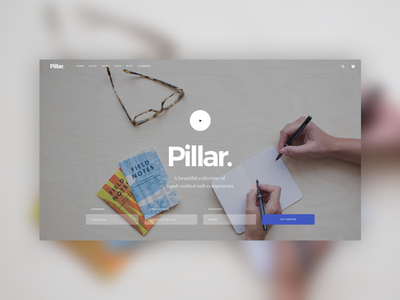 Upcoming Template - Cover Section fullscreen video signup envato template theme web interface form website
