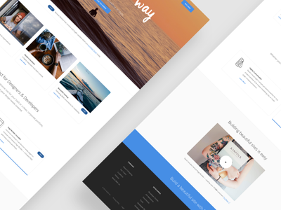 Upcoming Template - Landing Page interface ui web website landing theme template themeforest
