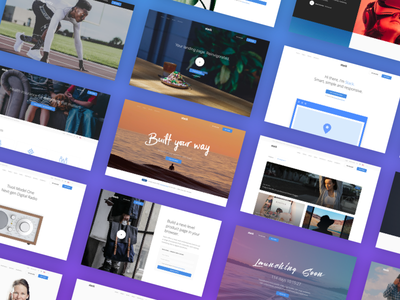 Stack - Our Newest Template designer developer theme template ui interface web builder html