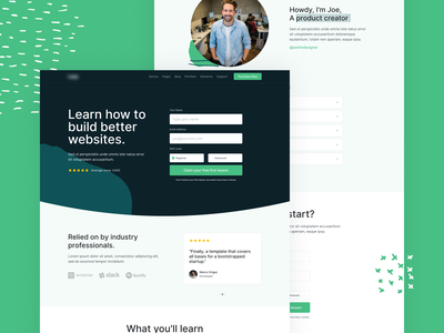 Upcoming HTML Template - E-Learning Landing bootstrap 4 bootstrap form course e-learning html ui theme template