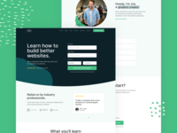 Upcoming HTML Template - E-Learning Landing